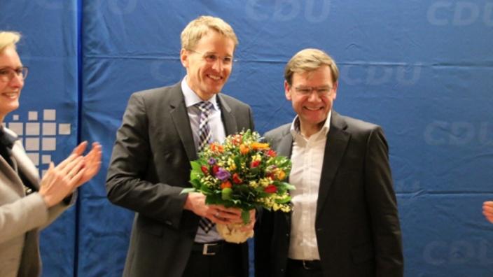 Daniel Günther und Johann Wadephul
